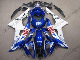 Yamaha YZF-R6 2008-2016 Carénage ABS Injection - FIAT - bleu/blanc