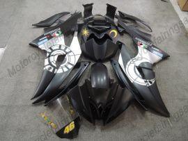 Yamaha YZF-R6 2008-2016 Carénage ABS Injection - autres - noir/argent