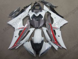 Yamaha YZF-R6 2008-2014 Carénage ABS Injection - autres - blanc / rouge