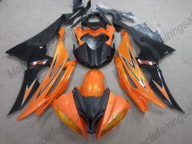 Yamaha YZF-R6 2008-2014 Carénage ABS Injection - autres - orange / noir