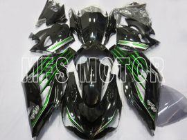 Kawasaki NINJA ZX14R 2012-2019 Carénage ABS Injection - Factory Style- vert/noir