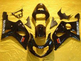 Suzuki GSX-R 1000 2000-2002 K1 K2 Carénage ABS Injection - autres - tout noir
