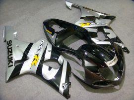 Suzuki GSX-R 1000 2000-2002 K1 K2 Carénage ABS Injection - autres - noir/argent
