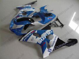Suzuki GSX-R 1000 2000-2002 K1 K2 Carénage ABS Injection - autres - bleu/blanc