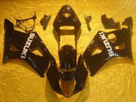 Suzuki GSX-R 1000 2003-2004 K3 Carénage ABS Injection - autres - tout noir