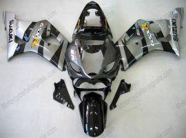 Suzuki GSX-R 1000 2003-2004 K3 Carénage ABS Injection - autres - noir/gris
