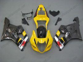 Suzuki GSX-R 1000 2003-2004 K3 Carénage ABS Injection - autres - jaune/gris