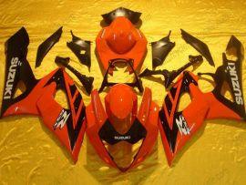 Suzuki GSX-R 1000 2005-2006 K5 Carénage ABS Injection - autres - rouge/noir