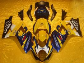 Suzuki GSX-R 1000 2007-2008 K7 Carénage ABS Injection - Corona - jaune/bleu