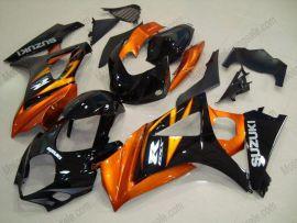 Suzuki GSX-R 1000 2007-2008 K7 Carénage ABS Injection - autres - noir/orange