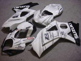 Suzuki GSX-R 1000 2007-2008 K7 Carénage ABS Injection - Corona - blanc/noir