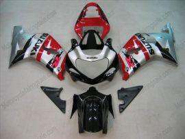 Suzuki GSX-R 600/750 2001-2003 K1 K2 Carénage ABS Injection - autres - noir/rouge/argent