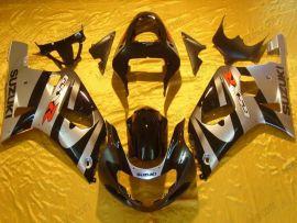 Suzuki GSX-R 600/750 2001-2003 K1 K2 Carénage ABS Injection - autres - noir/argent