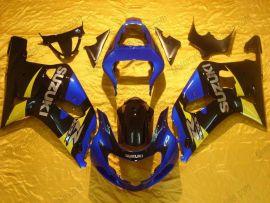 Suzuki GSX-R 600/750 2001-2003 K1 K2 Carénage ABS Injection - autres - bleu/noir/jaune
