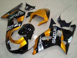 Suzuki GSX-R 600/750 2001-2003 K1 K2 Carénage ABS Injection - autres - doré/noir