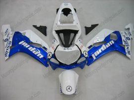 Suzuki GSX-R 600/750 2001-2003 K1 K2 Carénage ABS Injection - Jordan - blanc/bleu