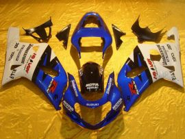 Suzuki GSX-R 600/750 2001-2003 K1 K2 Carénage ABS Injection - Motul - bleu/blanc