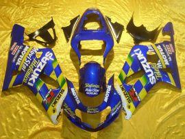 Suzuki GSX-R 600/750 2001-2003 K1 K2 Carénage ABS Injection - Movistar - bleu/jaune
