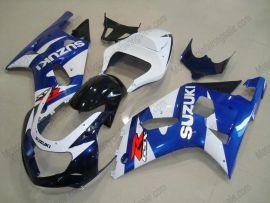 Suzuki GSX-R 600/750 2001-2003 K1 K2 Carénage ABS Injection - autres - bleu/blanc