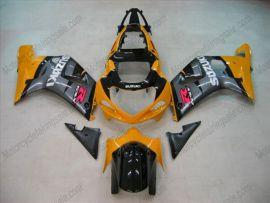 Suzuki GSX-R 600/750 2001-2003 K1 K2 Carénage ABS Injection - autres - argent/orange
