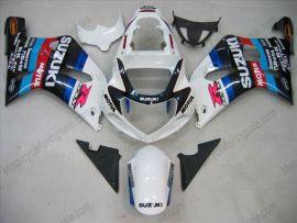 Suzuki GSX-R 600/750 2001-2003 K1 K2 Carénage ABS Injection - Motul - blanc/noir
