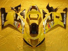 Suzuki GSX-R 600/750 2001-2003 K1 K2 Carénage ABS Injection - autres - jaune