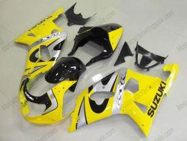Suzuki GSX-R 600/750 2001-2003 K1 K2 Carénage ABS Injection - autres - jaune/noir/argent