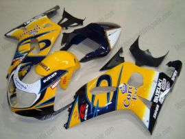Suzuki GSX-R 600/750 2001-2003 K1 K2 Carénage ABS Injection - Corona - jaune/noir