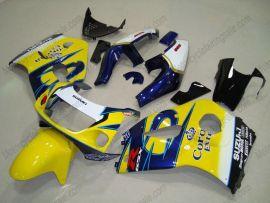 Suzuki GSX-R 600/750 1997-1999 Carénage ABS - Corona - jaune/bleu
