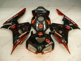 Honda CBR1000RR 2006-2007 Carénage ABS Injection - BACARDI - orange/noir