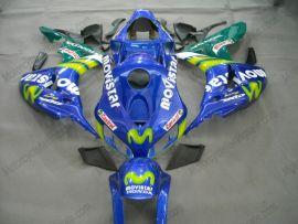 Honda CBR1000RR 2006-2007 Carénage ABS Injection - Movistar - bleu