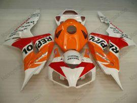Honda CBR1000RR 2006-2007 Carénage ABS Injection - Repsol - orange/blanc