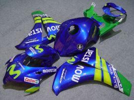 Honda CBR1000RR 2008-2011 Carénage ABS Injection - Movistar - bleu