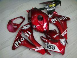 Honda CBR1000RR 2008-2011 Carénage ABS Injection - PIRELLI - rouge