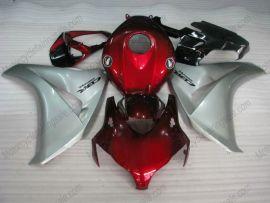 Honda CBR1000RR 2008-2011 Carénage ABS Injection - autres - rouge/argent