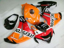 Honda CBR1000RR 2008-2011 Carénage ABS Injection - Repsol - orange/rouge/noir