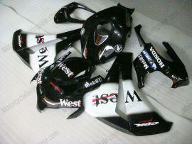 Honda CBR1000RR 2008-2011 Carénage ABS Injection - West - noir/blanc
