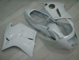Honda CBR 1100XX BLACKBIRD 1996-2007 Carénage ABS Injection - Factory Style - tout blanc