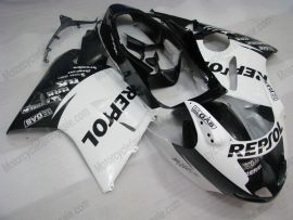 Honda CBR 1100XX BLACKBIRD 1996-2007 Carénage ABS Injection - Repsol - blanc/noir