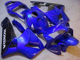 Honda CBR 600RR F5 2003-2004 Carénage ABS Injection - autres - bleu