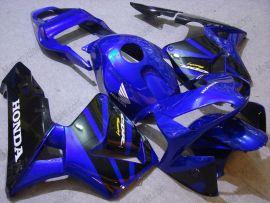 Honda CBR 600RR F5 2003-2004 Carénage ABS Injection - autres - bleu/noir