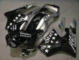 Honda CBR 600RR F5 2003-2004 Carénage ABS Injection - SevenStars - noir/argent