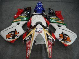 Honda CBR 600RR F5 2003-2004 Carénage ABS Injection - Lee  - blanc/noir/rouge