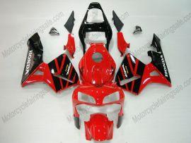 Honda CBR 600RR F5 2003-2004 Carénage ABS Injection - autres - noir/rouge