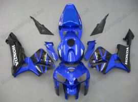 Honda CBR 600RR F5 2005-2006 Carénage ABS Injection - autres - bleu/noir