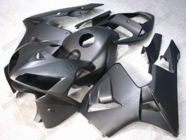 Honda CBR 600RR F5 2005-2006 Carénage ABS Injection - Factory Style - tout noir(Matte)