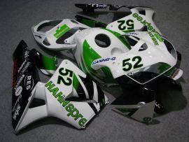 Honda CBR 600RR F5 2005-2006 Carénage ABS Injection - HANN Spree - blanc/vert/noir