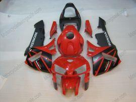 Honda CBR 600RR F5 2005-2006 Carénage ABS Injection - autres - rouge/noir