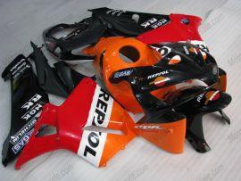 Honda CBR 600RR F5 2005-2006 Carénage ABS Injection - Repsol - orange/noir