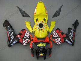Honda CBR 600RR F5 2005-2006 Carénage ABS Injection - Rossi  - jaune/rouge/noir